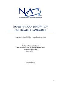 Proposed Composite Innovation Scorecard Framework