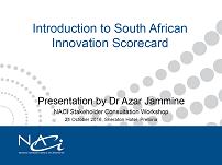 Introduction to Innovation Scorecard Framework by Dr Jammine